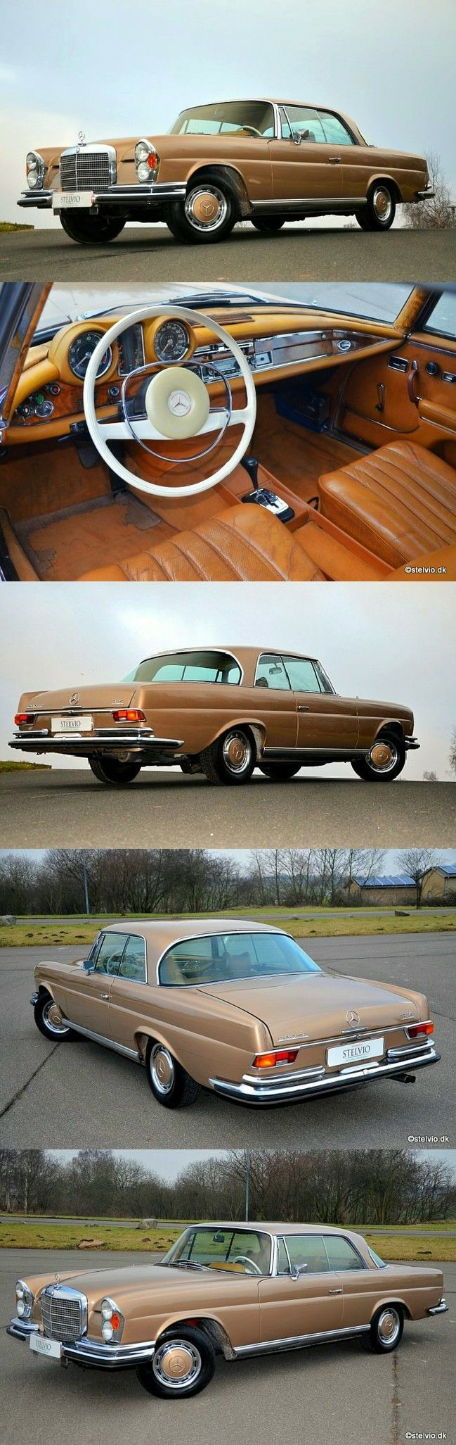 1971 Mercedes Benz 280 SE 3.5 Coupé – #Benz # Coupé #Mercedes #se