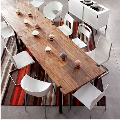 Who says a conference table must be boring?  Love this..