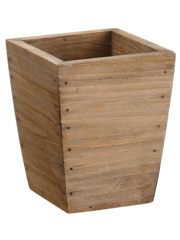 Wood Floral Container from Afloral.com