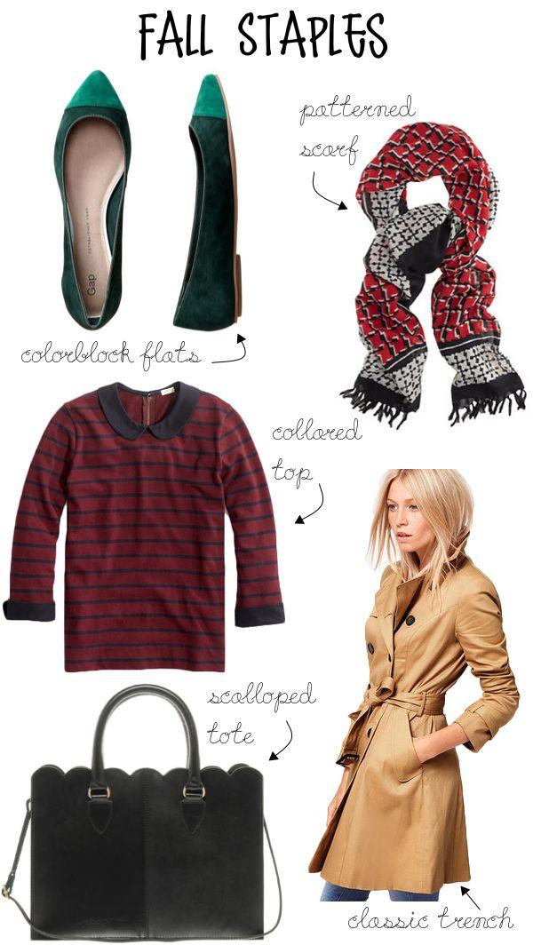 Fall Fashion Staples