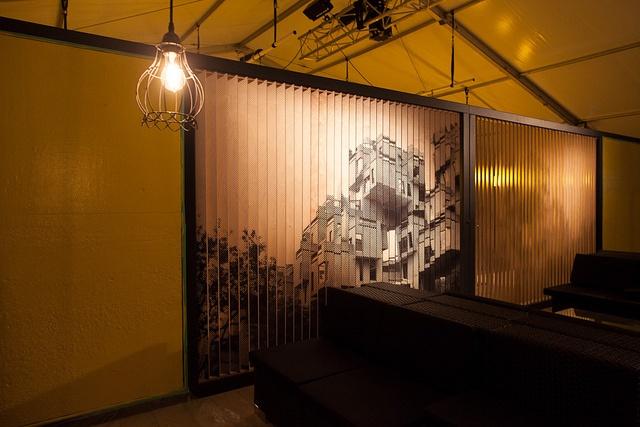 Lounge Commercial Vidéotron © Elida Arrizza / C2-MTL