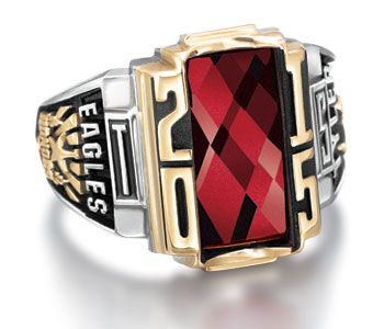 Personalized School Rings