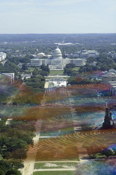 E se potessimo vedere il Wi-Fi? Le immagini visionarie di un artista americano - Focus.it
