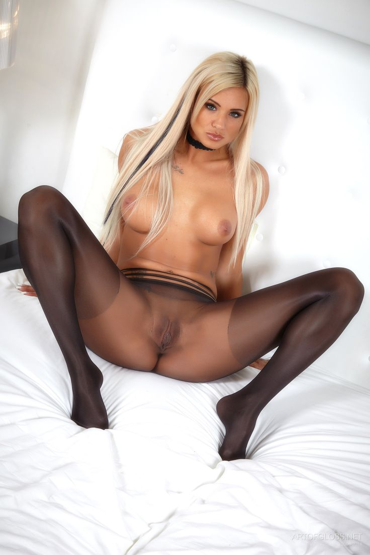 Black tights xxx