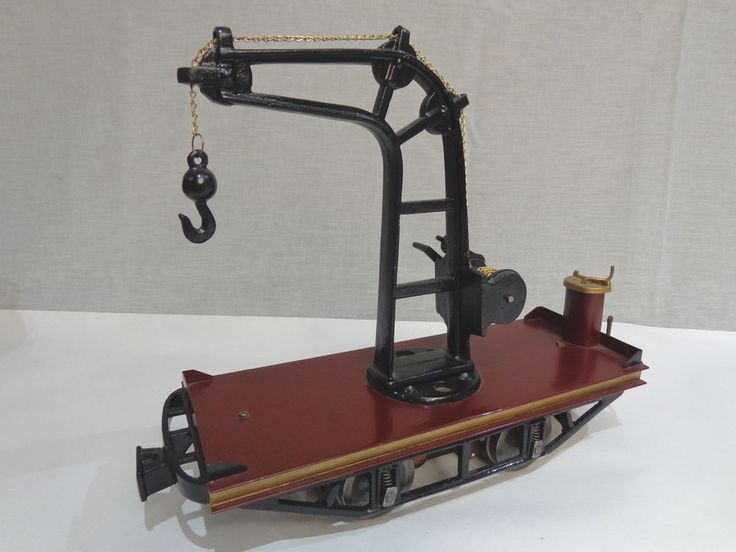 LIONEL No 500 CRANE CAR 2-7/8 INCH MOTORIZED JCJ REMAKE #X6161 #Lionel