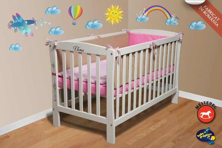 Patut bebe junior Mos Ene de la Mesterel cu saltea inclusa http://www.ecomami.ro/produse-bio/Patut_bebe_cu_saltea_cocos.html