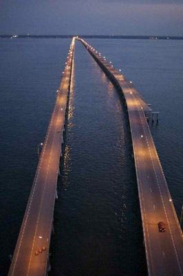 Chesapeake Bay Bridge. Head to the ocean hun