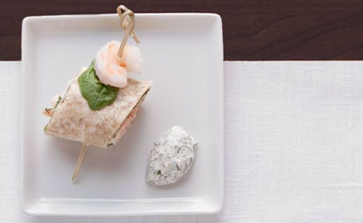 Epicure's 2-bite Shrimp Pinwheels