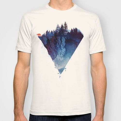 Near to the edge T-shirt by Robert Farkas | Society6