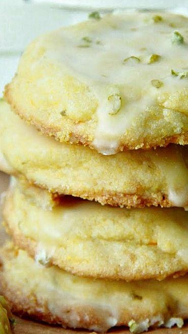 Glazed Lime Cookies Recipe