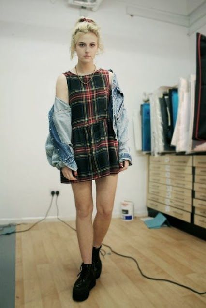 """I wore plaid all the time in the Fifth grade, late 1994-mid 1995, during the height of the """"Grunge"""" era.  Even wore it for my school portrait that year."""