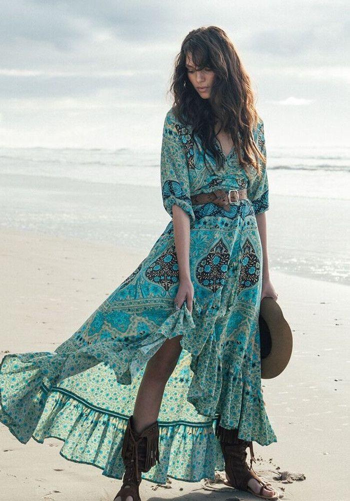 ╰☆╮Boho chic bohemian boho style hippy hippie chic bohème vibe gypsy fashion indie folk the 70s . ╰☆╮bridesmaid dress