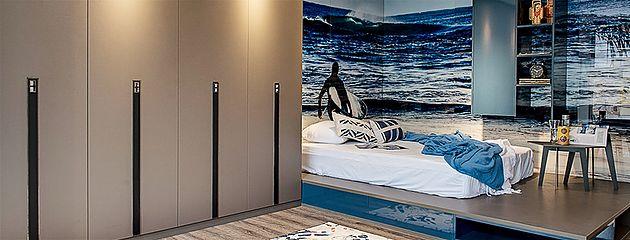 Decoração de surfista para quarto de adolescente | home Lux marcenaria corporativa.