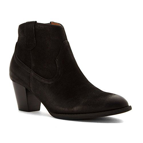 VIONIC Womens Upright Windom Western Ankle Boot Black Boot ** You can get  more details