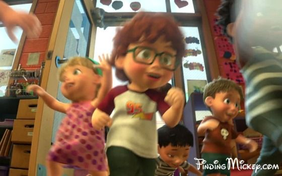 Toy Story 3 Sunnyside Daycare : As the kids at sunnyside daycare rush into room to