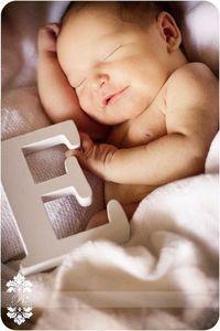 Newborn picture idea