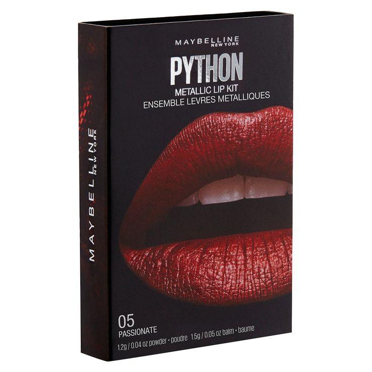 Maybelline Lip Studio Python Chrome 01 Shade 1 0.08 oz, Gold