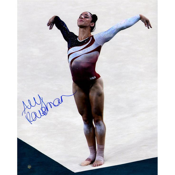 Aly Raisman Signed In Corner 16x20 Photo