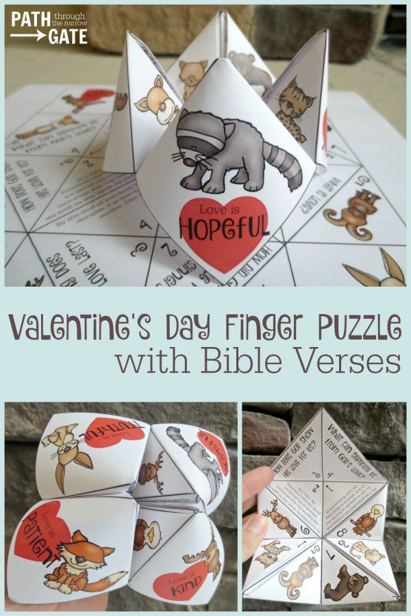 Are you looking for a fun Valentine's Day craft that will remind your children or your Sunday school class of God's love? Are you looking for a Valentine's craft that would be appealing to both boys and girls? Do you need a simple project for home or class room use? If so, this Valentine's Day […]