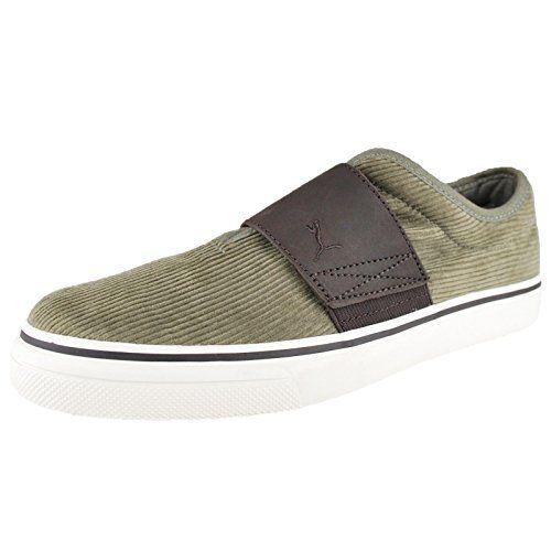 Puma El Rey Corduroy Fashion SneakerBurnt OliveBlack Coffee5US65 D US *** Click image to review more details.