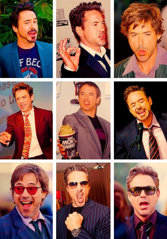 Congratulations on your face, Robert Downey Jr.