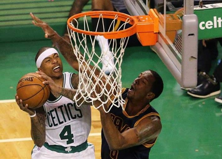 Isaiah Thomas and the Celtics beat LeBron James and the Cavs last week in one of the most exciting games of the season, 103-99