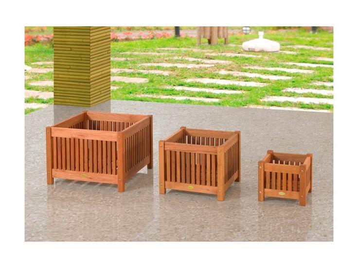 cachepos de madeira modelos 2