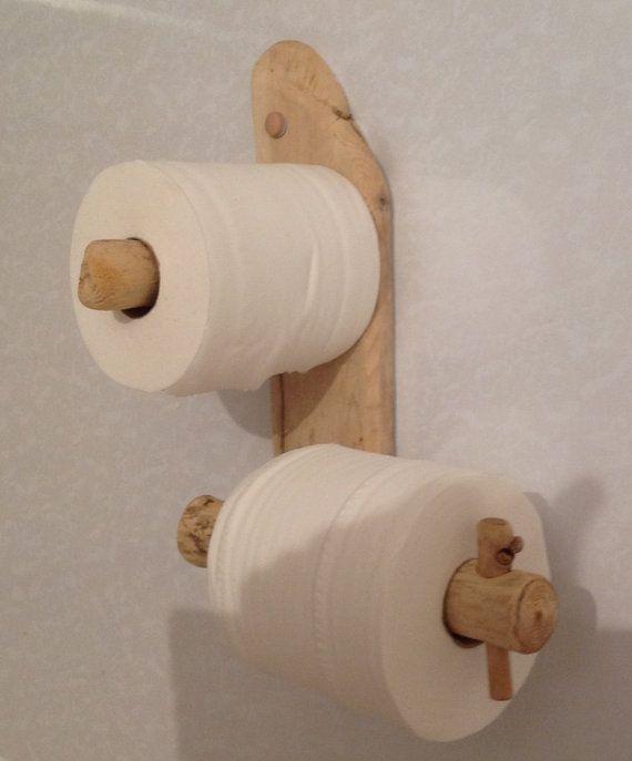 Driftwood toilet roll holder Art. Sculpture by COASTLINECRAFTS, £18.50