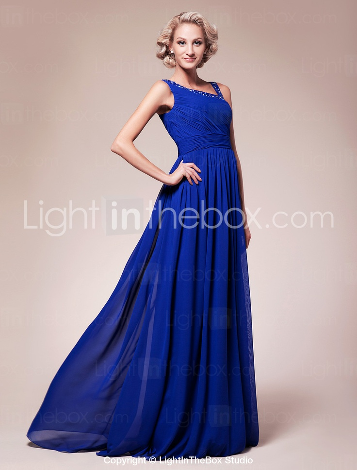 Something blue...bridesmaid dresses!