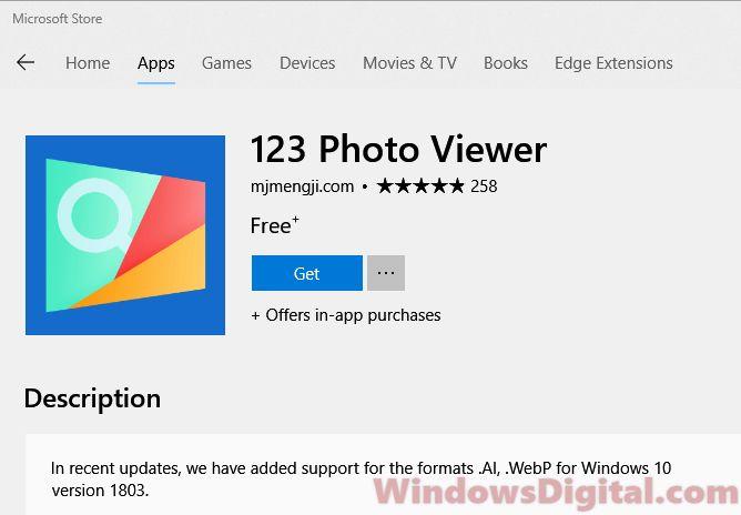Free Photo Viewer for Windows 10 Download Alternative