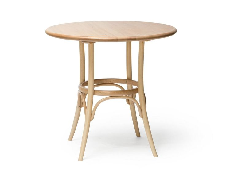Round solid wood table N° 152 by TON