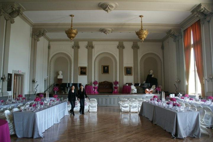 18 best Ballroom (wedding reception space) images on Pinterest - wedding reception setup with rectangular tables