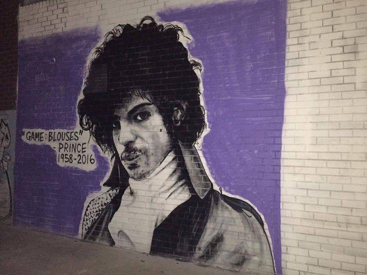 Florence st - Graffiti? No - art.