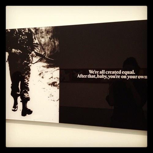 Alfredo Jaar- We Are All Created Equal