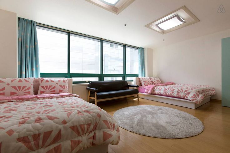 Check out this awesome listing on Airbnb: [1min@Hongdae stn]Two queen beds-F - Apartments for Rent in Mapo-gu