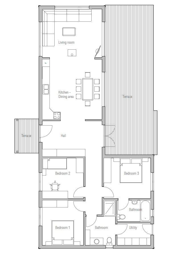 Les 8 meilleures images à propos de Casas sur Pinterest Plans de - Plan De Construction D Une Maison
