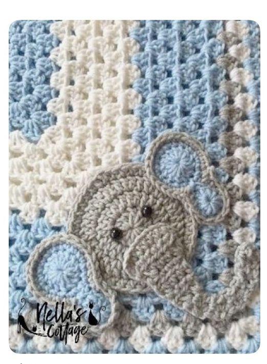 Mejores 58 imágenes de Crochet Items en Pinterest | Colchas, Mantas ...