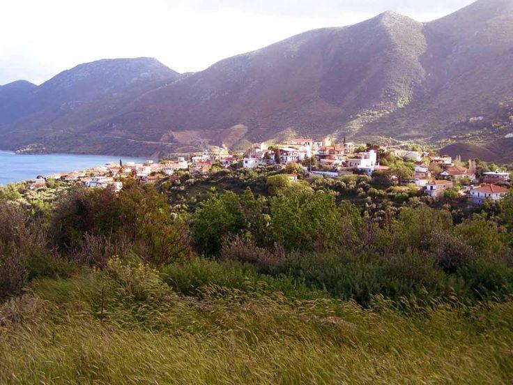 Σκουτάρι (Πανοραμική άποψη του χωριού) www.iloveskoutari.com
