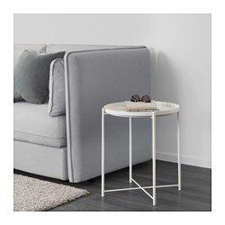 GLADOM Brickbord, vit - 45x53 cm - IKEA