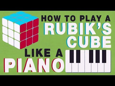 Music notes can help you solve the Rubik Cube!