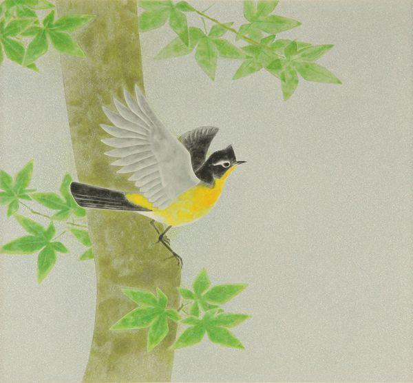 'Summer Sun' lithograph by Atsushi UEMURA
