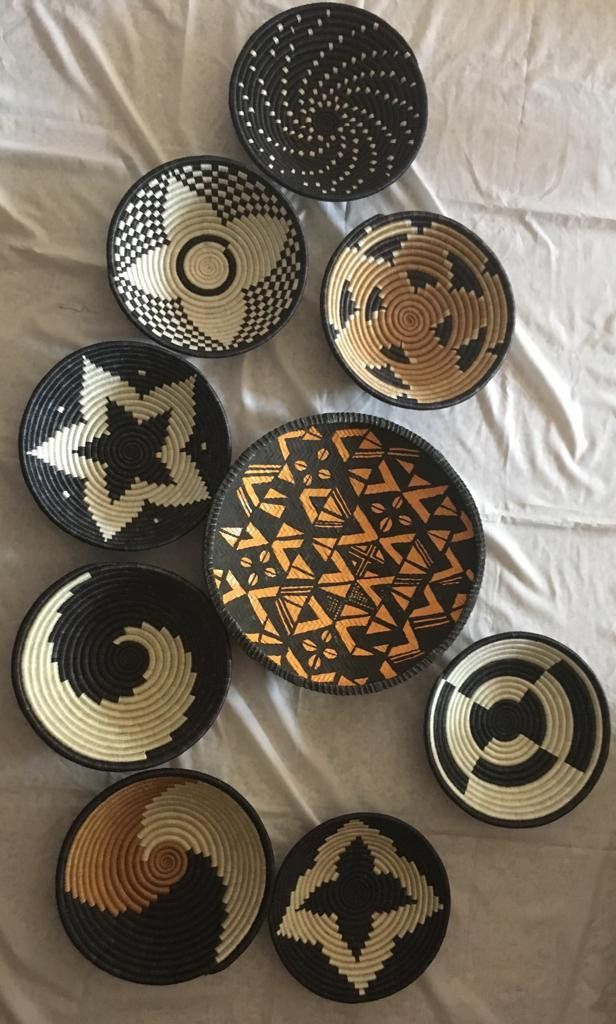 Etsy African Woven Baskets
