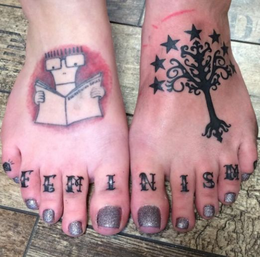 270 best feet tattoos images on pinterest tattoo artists for Toe tattoos pinterest