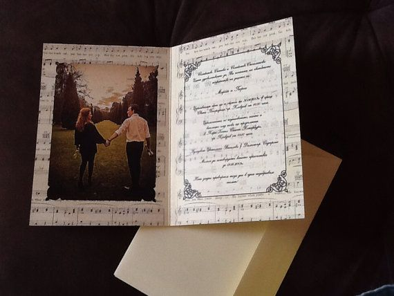 17 best ideas about music wedding invitations on pinterest, Wedding invitations