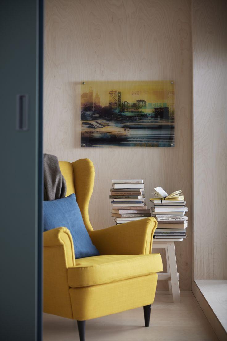 MANTEBO afbeelding | #IKEA #IKEAnl #nieuw #afbeelding #NewYork #taxi #kunstwerk #persoonlijk #styling #inspiratie #geel