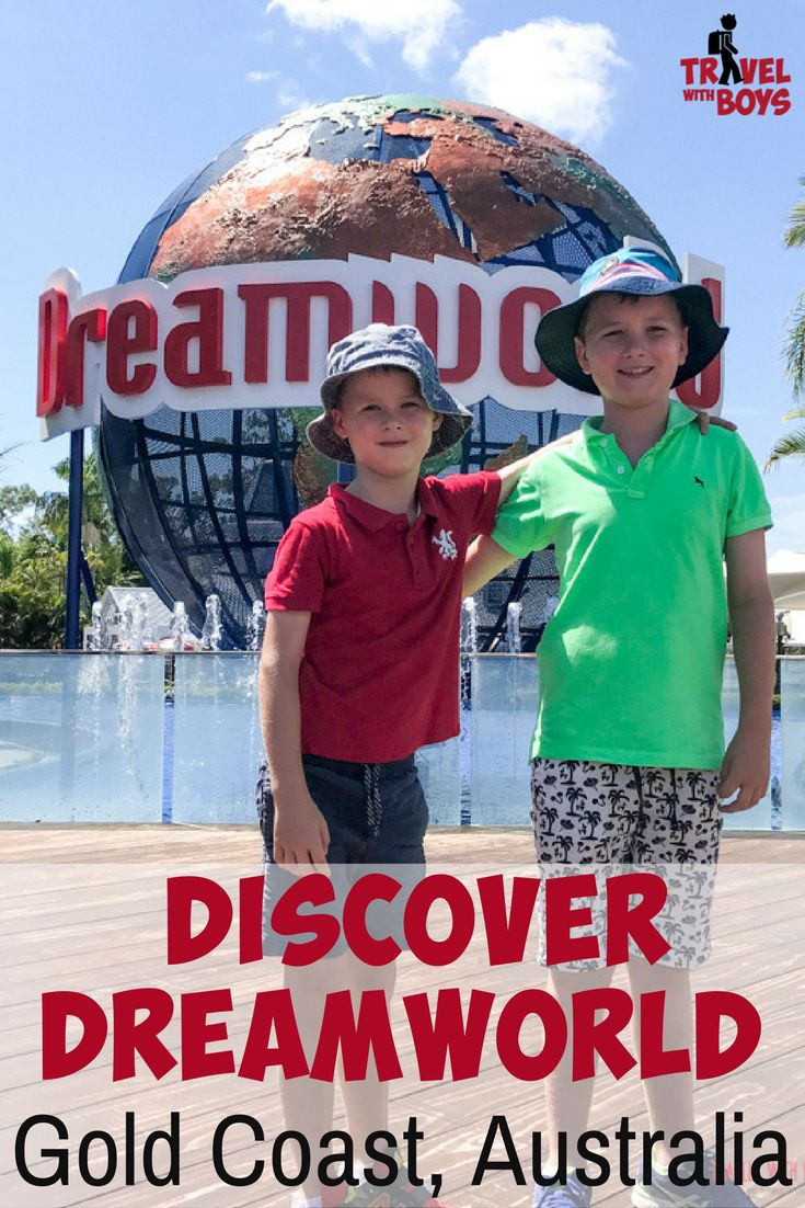 The ultimate family guide to Dreamworld on the Gold Coast, Australia with teens, toddlers and those boys in between. Best activities, tips and how to save. - Travel with Boys