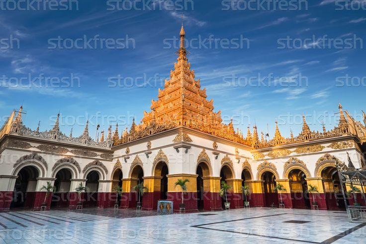 Arany · Buddha · templom · Burma · elképesztő · építészet - stock fotó © Im Perfect Lazybones (Lakhesis) (#5629066) | Stockfresh