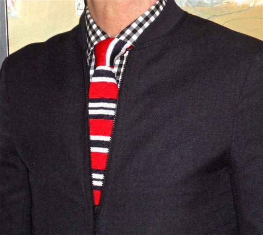 TOPMAN jacket, Tommy Hilfiger shirt, Sondergaard knit tie… #TOPMAN #TommyHilfiger #Sondergaard #mensfashion #fashion #dandy #dapper #sartorial #sprezzatura #menshoes #mensweardaily #menstyle