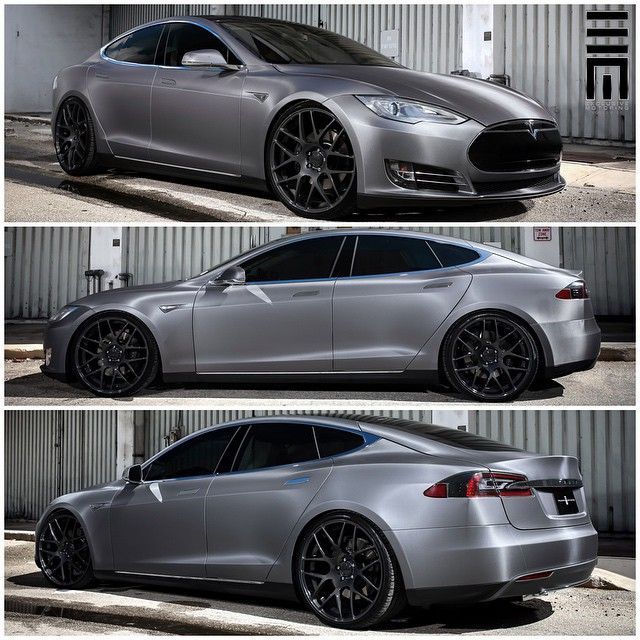 """Carbon fiber wrapped Tesla Model S customized by @ExclusiveMotoring #ExclusiveMotoring #Miami"""