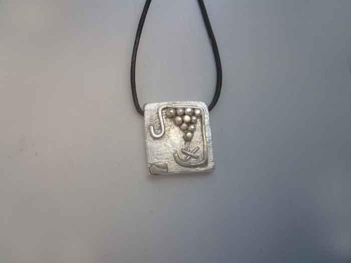 mayan kin seal storm cauac sterling silver 925 pendant necklace colgante sello maya tormenta plata de ley amuleto zodiacal by Algaba on Etsy